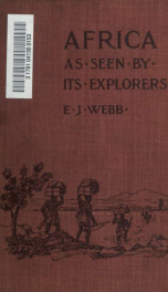 Africa as seen by its explorers_cover