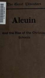 Alcuin and the rise of the Christian schools_cover