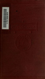 Physiography: an introduction to the study of nature_cover