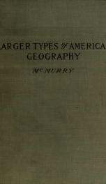 Larger types of American geography, second series of type studies_cover