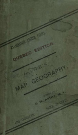 A primer of map geography; with recent departmental examination papers from the provinces of Ontario, Manitoba, and Nova Scotia_cover