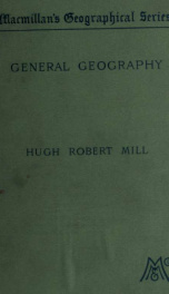 An elementary class-book of general geography_cover