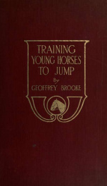 Training young horses to jump;_cover