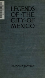 Legends of the City of Mexico;_cover