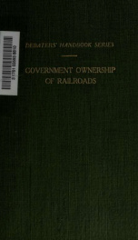 Selected articles on government ownership of railroads 2_cover