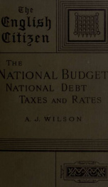 The national budget; national debt, taxes and rates_cover