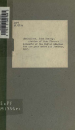 [Review of the] Finance accounts of the United Kingdom for the year ended 5th January, 1823 .._cover
