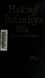 Making tin can toys_cover