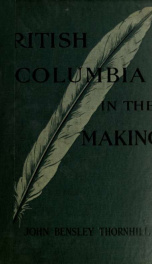 British Columbia in the making, 1913_cover