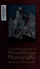 A condensed course in motion picture photography_cover