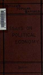 Essays on political economy;_cover