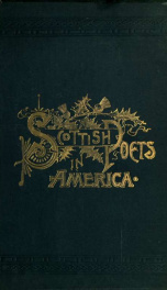 Scottish poets in America; with biographical and critical notices_cover