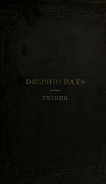 Delphic days_cover