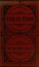 Ivan de Biron; or, The Russian Court in the middle of last century_cover
