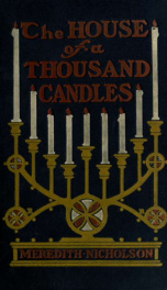 The house of a thousand candles;_cover
