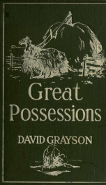 Great possessions, a new series of adventures_cover