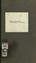 Bibliographies of Swinburne, Morris and Rossetti_cover