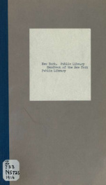 Handbook of the New York Public Library_cover