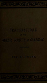 Transactions of the Gaelic Society of Glasgow 2_cover