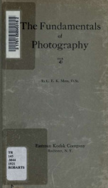 The fundamentals of photography_cover
