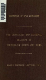 The commercial and technical relations of engineering design and work_cover