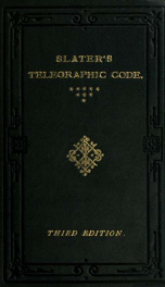 Telegraphic code, to ensure secrecy in the transmission of telegrams_cover