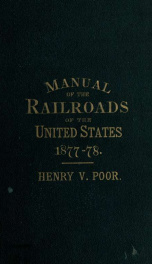 Poor's manual of railroads 10-11_cover