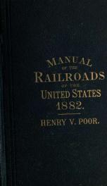Poor's manual of railroads 15_cover