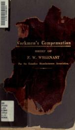 A brief on workmen's compensation_cover