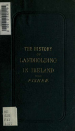 The history of landholding in Ireland_cover