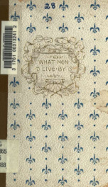 What men live by_cover