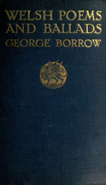 Welsh poems and ballads_cover