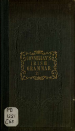 A practical grammar of the Irish language_cover