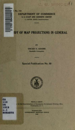 A study of map projections in general_cover