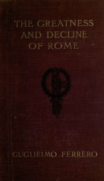 The greatness and decline of Rome 1_cover