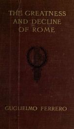 The greatness and decline of Rome 5_cover
