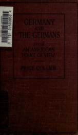 Germany and the Germans : from an American point of view_cover
