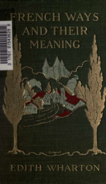 French ways and their meaning_cover