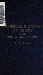 Suggested standards of purity for foods and drugs_cover
