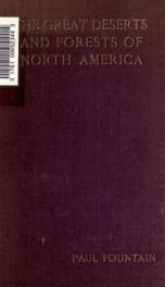 The great deserts and forests of North America_cover