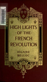 High lights of the French revolution_cover