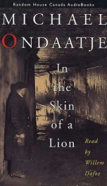 In the Skin of a Lion _cover