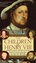 The Children Of Henry VIII_cover
