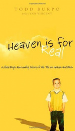 Heaven is for real_cover