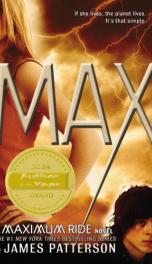 MAX (Book 5 The Maximum Ride Series)_cover