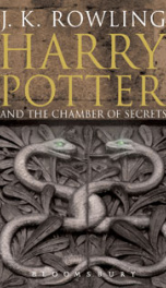 Book 2 - Harry Potter Chamber of Secrets_cover