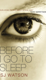 Before I Go To Sleep   _cover