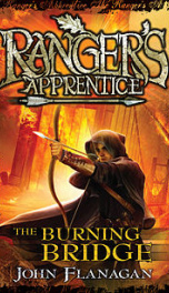 The Burning Bridge - Ranger's Apprentice Book 2_cover