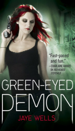 Green eyed demon_cover