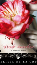 bloody valentine ( a blue bloods novel)_cover